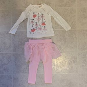 OshKosh B'Gosh toddler girls outfit 3T
